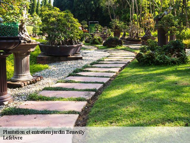 Jardinier pour entretien de jardin Brusvily tél: 02.61.45.11.84